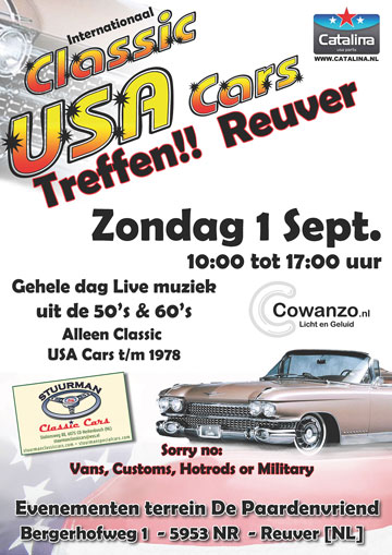 Int. Classic USA Car Treffen Reuver
