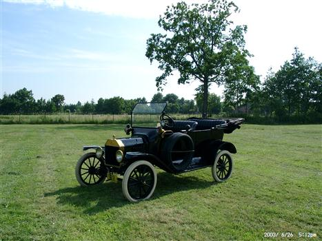 Oldtimer te huur: Ford T