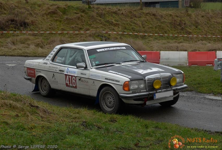 Oldtimer te huur: Mercedes 230CE Rally